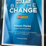 Chelsea's Closet receives Be the Change Award from FOX 12 Oregon