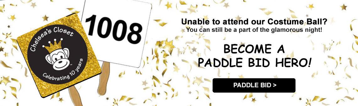 Paddle Bid Slide