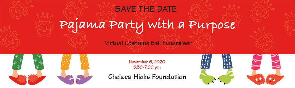 Pajama Party with a Purpose – Virtual Event